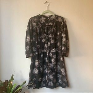 ZARA TRF Collection Brown Dress with Side Pockets